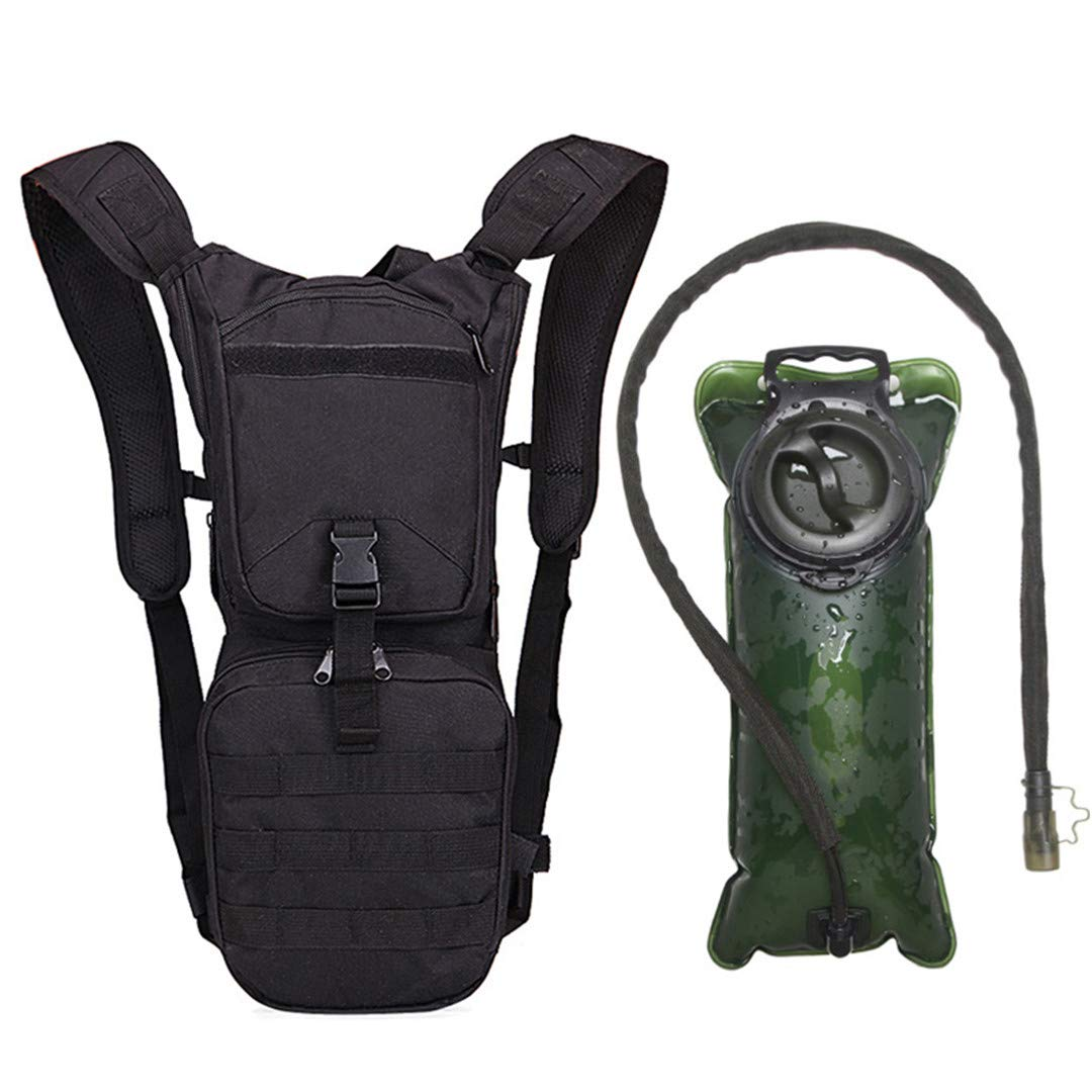 Amazon.com : LOIUYBM 2.5L Tacitical Water Bag Military Hydration Backpack Outdoor Water Bladder Bag for Cycling Hiking Army Green : Sports & Outdoors