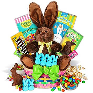 Amazon classic easter basket gourmet candy gifts grocery classic easter basket negle Choice Image