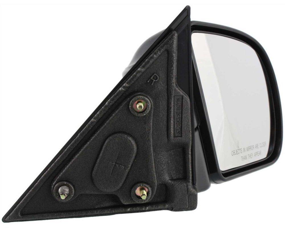 Manual Folding S10 Pickup 94-04//Blazer 95-05 Right Side Manual Folding Below Eyeline Type Textured Black Kool Vue GM49R