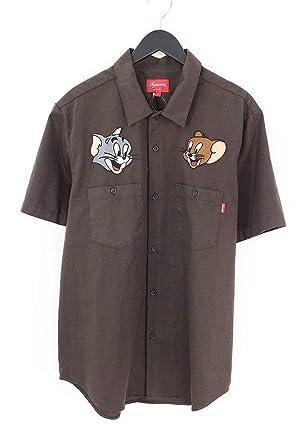 シュプリーム Supreme 16aw Tom Jerry Work Shirt トムアンド