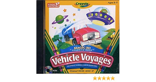 Amazon Crayola Vehicle Voyages
