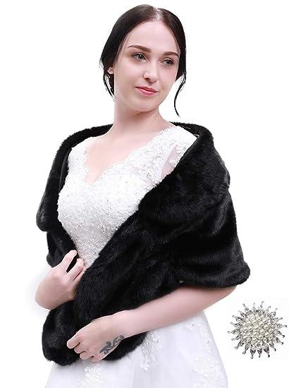 fdddc5236bc6a Kercisbeauty Light Gray Fur Shawl Gray Fur Bridal Wrap Wedding Fur ...