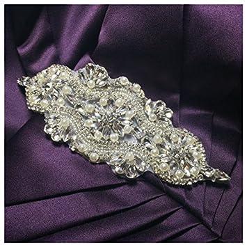 Apliques dorados para vestidos de novia