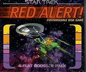 Star Trek Red Alert! Customizable Disk Game