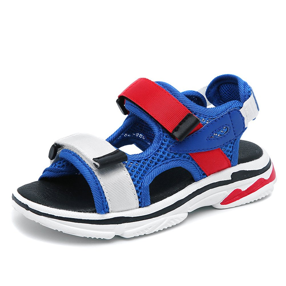 Mobnau Beach Hiking Athletic Open Toe Boys Sandals for Kids