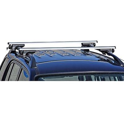 Rage Powersports Apex RB-1001-49 Universal Side Rail Mounted Aluminum Roof Cross Bars