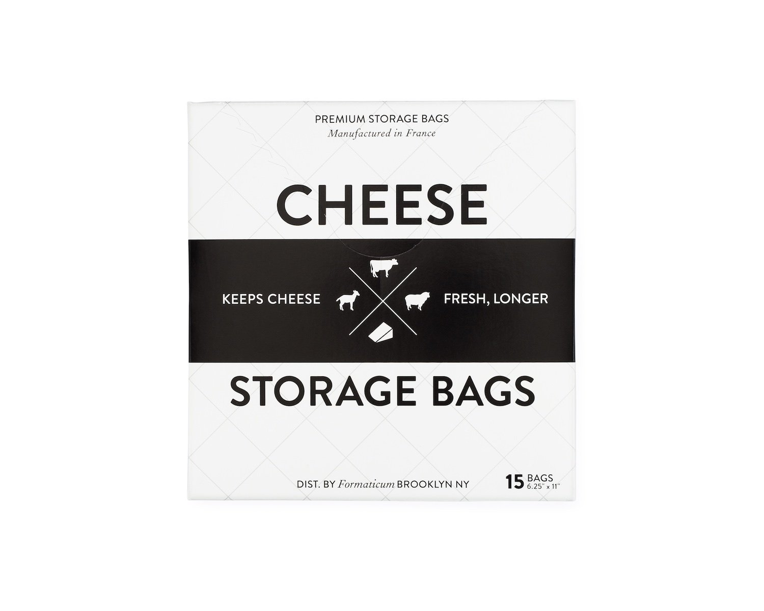 Formaticum Cheese Storage Bags, 15 Count 50-00-01