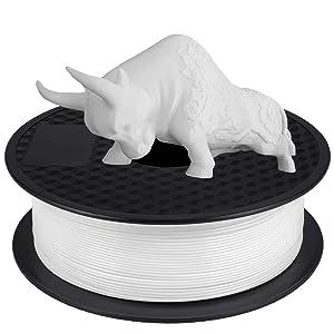PLA Filament 1.75mm Blanc, GIANTARM Imprimante 3D Filament PLA 1kg Spool