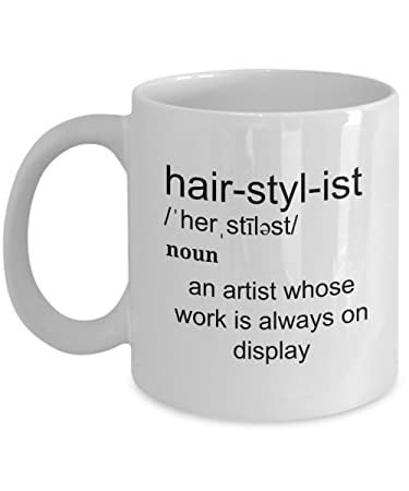 Amazon.com: 11oz Hairstylist - An Arist Whose Work Is Always On ...