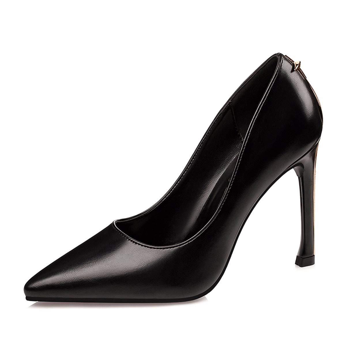 SFSYDDY-avec des Chaussures De Travail du Printemps Et De L'Été Les Talons Pointus Carrière 10 Cm.