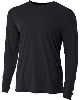 96e8ab596f58 Men's Long Sleeve Loose Fit Rash Guard Surf Shirt Water Sports Swimwear