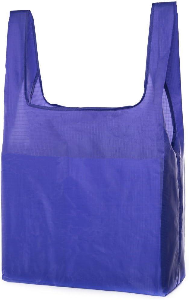 Mato & Hash Reusable Shopping Bags | Large Fold Up Shopping Bag, Heavy Duty Shopper Tote