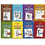 Diary of a Wimpy Kid Set 1-8 (Diary of a Wimpy Kid, Rodrick Rules, The Last Straw, Dog Days, The Ugly Truth, Cabin Fever, The Third Wheel, Hard Luck)