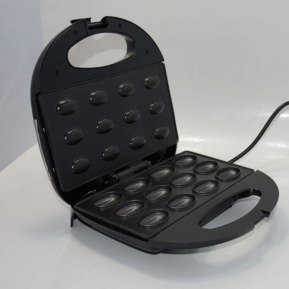 Electric Walnut Cake Maker Automatic Mini Nut Waffle Bread Machine Sandwich Iron Toaster Baking Breakfast Pan Oven EU plug,Plug,US