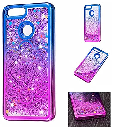 Amazon.com: Huawei Honor 7 x Funda, ngift [] Bling Sparkle ...