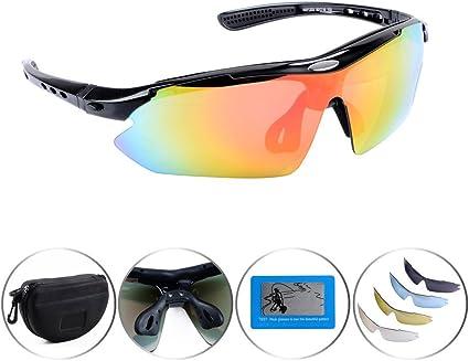 LE Men/'s Outdoor Riding Polarized Sunglasses Anti UV Half Frame Goggles