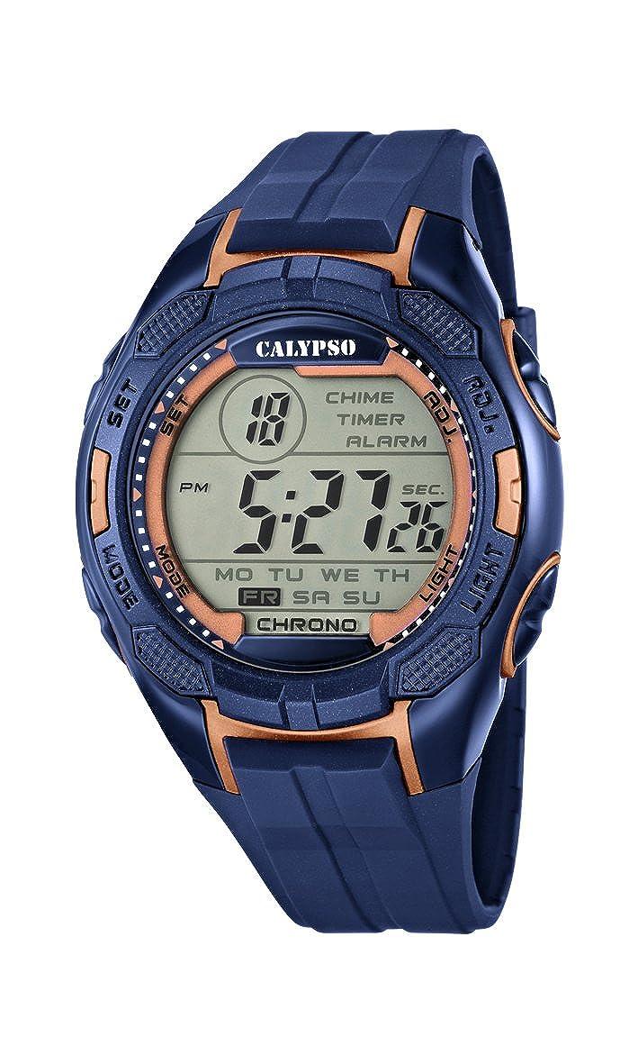 Calypso Reloj Digital para Hombre de Cuarzo con Correa en Plástico K5627/9