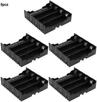 Hilitand Soporte de batería 5pcs Caja de Almacenamiento de batería ...