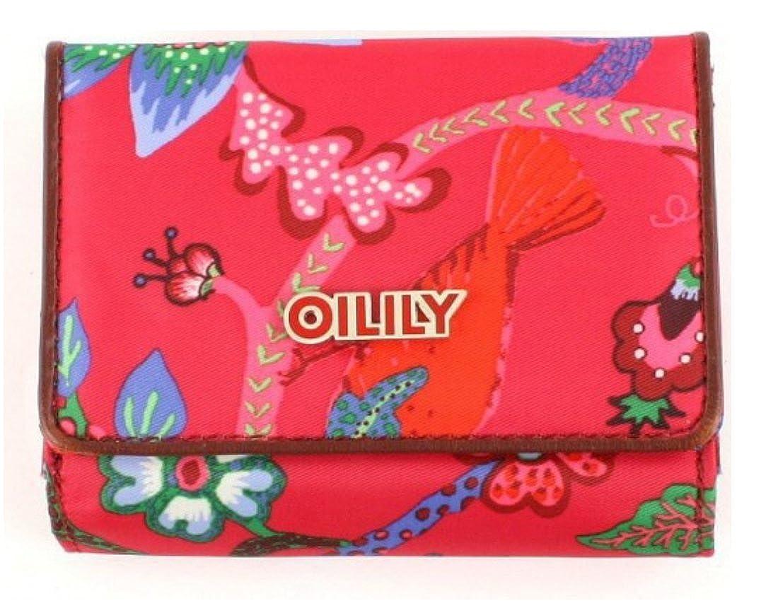Oilily Flap Wallet Monedero Brieftasche Geldbeutel Paradiso Rosa