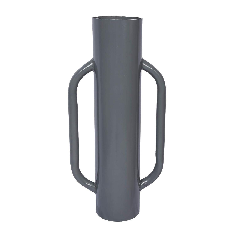 Wiltec Battipalo per recinzioni per Pali Fino /Ø 165mm per piantare i Pali in Modo Sicuro e preciso