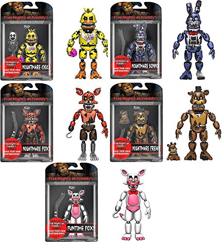 5 Action Figure Set - 3