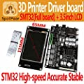 3D printer 3.5inch touchscreen LCD+STM32 control board?Full? pakage?support Delta Prusa i3 Ultimaker