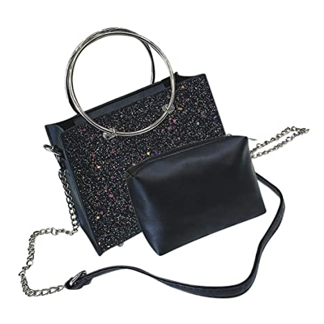 9f395f0348fb Women Handbags for Girls Women Crossbody Fashion Handbags   Shoulder Bags  Retro Female Bling Sequins Messenger