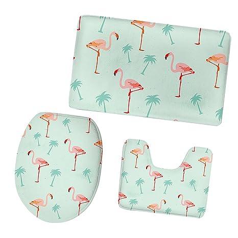 Amazon Com Monkeyjack Flamingo Toilet Seat Cover Pedestal Lid Cover