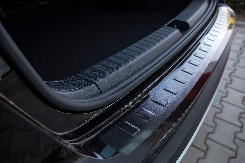 Tuning-Art L246 Nero Acero Inoxidable protecci/ón de Parachoques con Bordes Redondeados y Perfil 3D