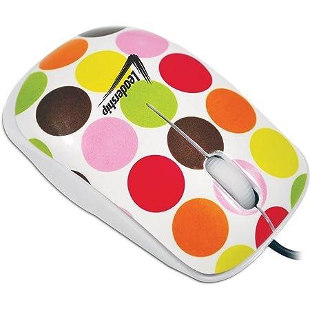 Mouse Usb Óptico Led 800 Dpis Mini Ball Retrô 3413 Leadership