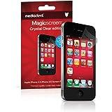 Apple iPhone 4 / 4S Screen Protector, MediaDevil Magicscreen Crystal Clear (Invisible) Edition - (2 x Protectors)
