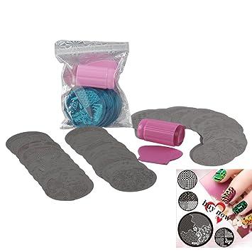 Amazon Biutee Nail Art Stamping Kit 30 Manicure Plate Set With