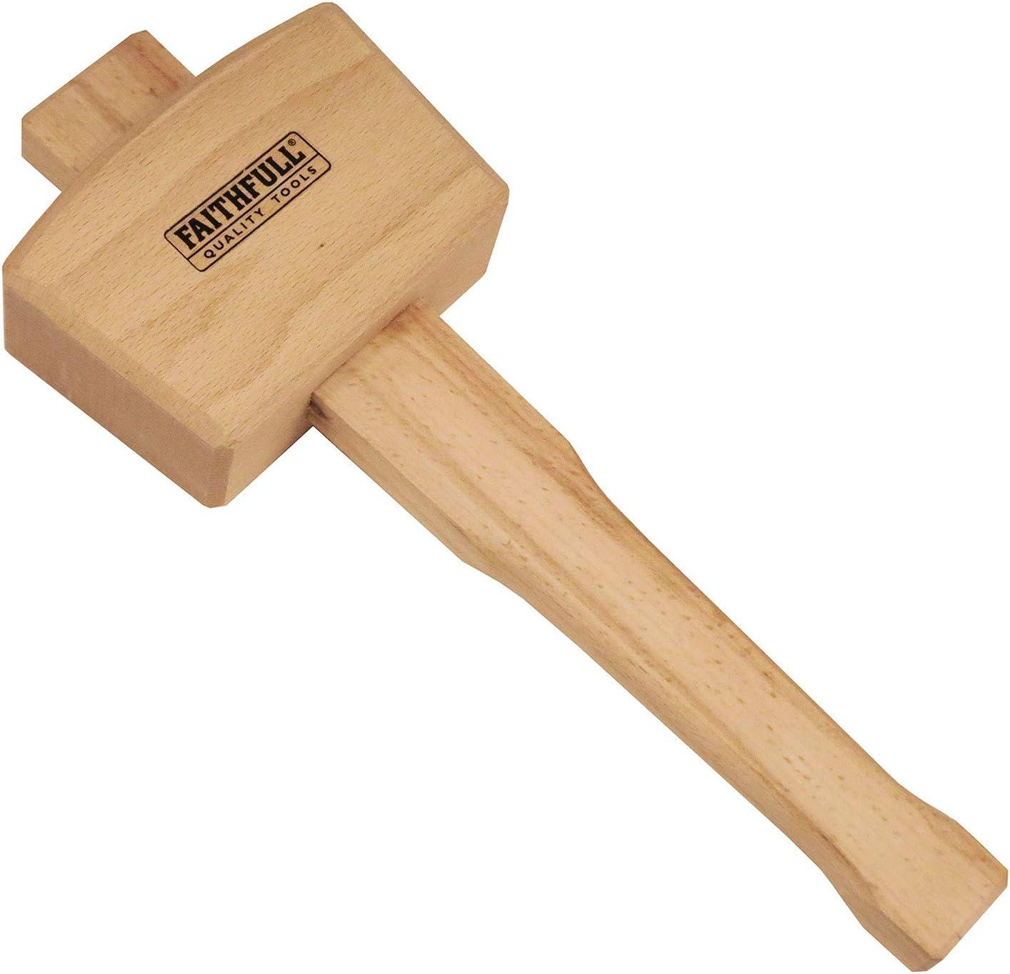 Maza de madera tama/ño: 4.1//2pulgadas Faithfull FAICM412