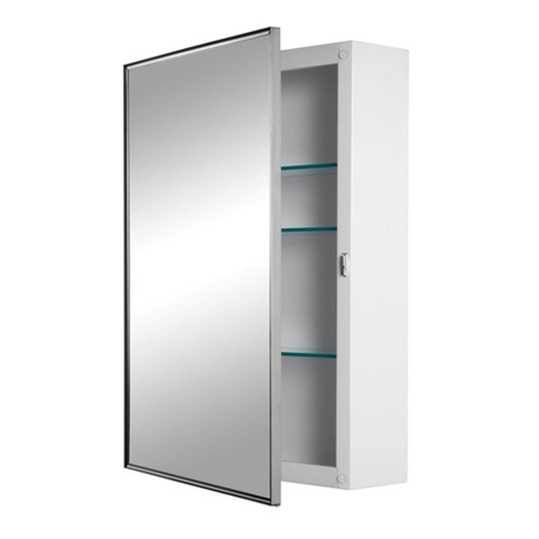 Jensen Medicine Cabinet Amazoncom Jensen Medicine Cabinet Styleline Steel 16w X 26h In