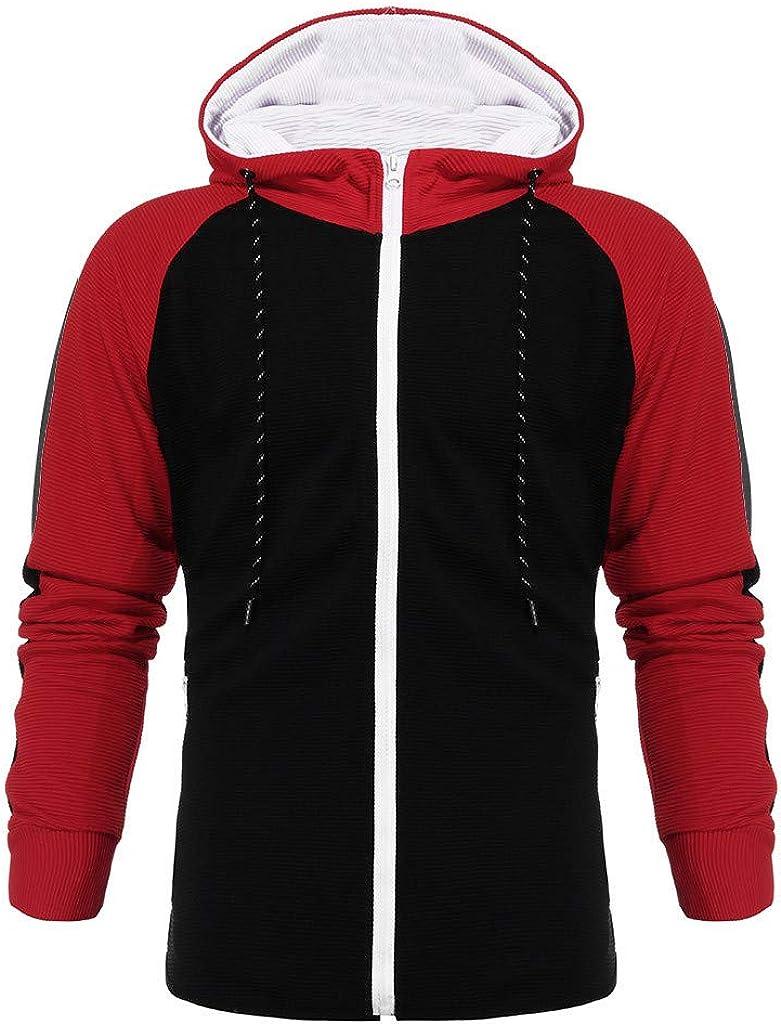 Men Tracksuit Autumn Stripe Print Sweatshirt Top Pants Sets Sport Suit Jogging Outfit
