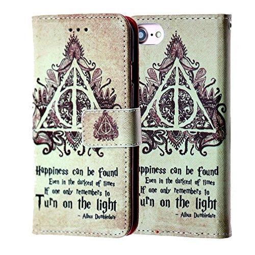 Cell Phone Potter Harry - Harry Potter iPhone 6s Wallet Case, IMAGITOUCH Folio Flip PU Leather Wallet Case with Kickstand Wrist strap and Card Slots for iphone 6 / 6s (4.7
