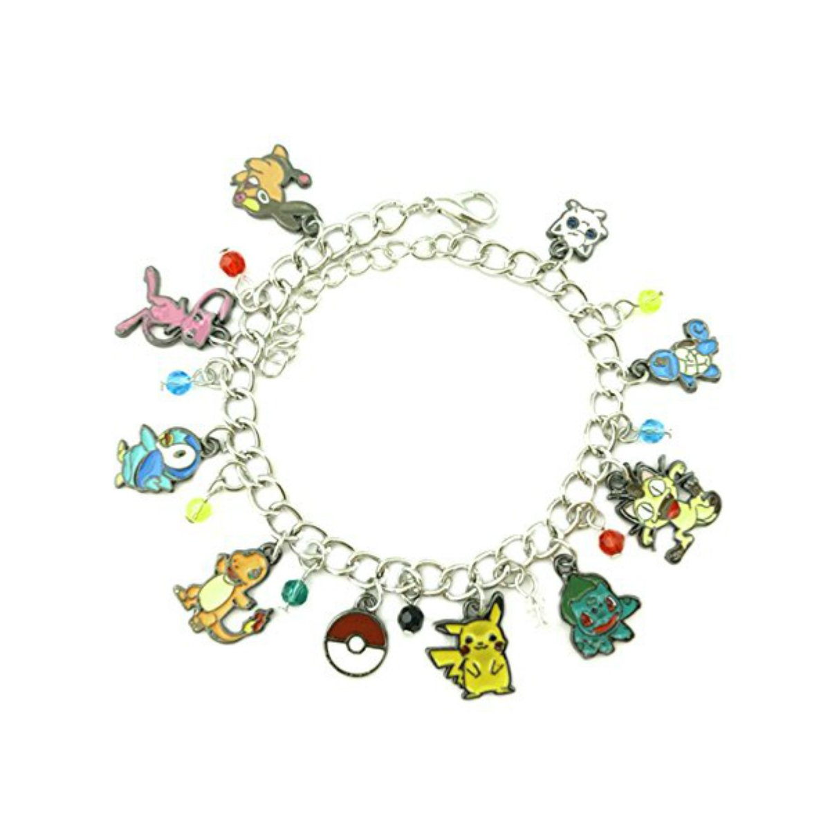 US FAMILY PokeMon Game Anime Theme Multi Charms Jewelry Bracelets Charm by Family Brands