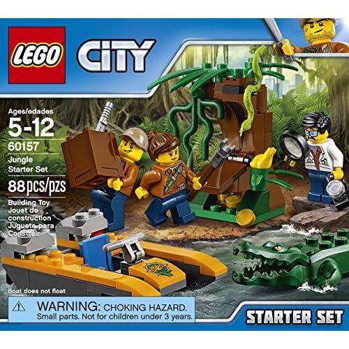 6015788 De Démarrage Jungle Pièces City Ensemble La Lego OlPkiuXwTZ
