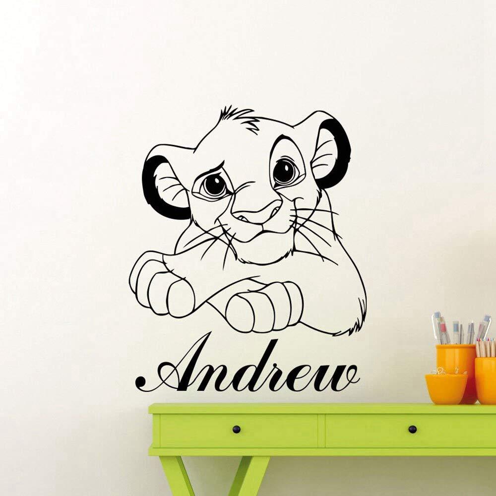 Personalizar pegatinas de pared de dibujos animados decoración del ...