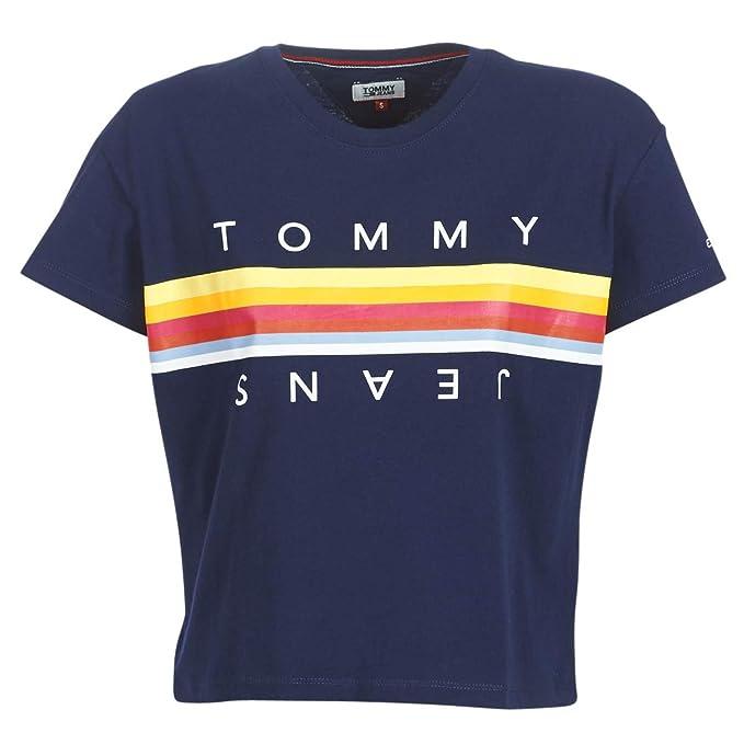 tommy hilfiger scarpe prezzi, Tommy jeans t shirt con logo