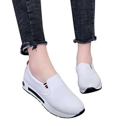 eb194b7f8c8da Clearance! Women Sneakers, Neartime Fashion Casual Flat Thick Basic Shoes  Slip On Ankle Boots Platform Sport Shoes