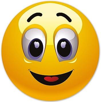 Smiley Fun Aufkleber Motiv 5 20 Cm Selbstklebend Glänzend Für Auto Motorrad Fahrrad Boot Oder Caravan Auto