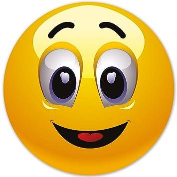 Smiley Fun Aufkleber Motiv 5 10 Cm Selbstklebend Glänzend