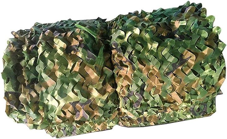 Woodland Red de Camuflaje Ejército Ejército Camo Net Bloque Solar Malla Militar Resistente a los Rayos UV Jardín Sombra Malla Rollo a Granel para Plantas Invernadero Piscina Pérgola: Amazon.es: Hogar