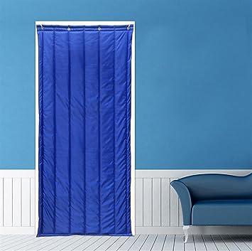 Cortina térmica Icegrey para aislamiento de puertas, panel de protección, cortina de aislamiento térmico, aislamiento acústico, a prueba de viento, ICG-YONGT-001-4-80x200cm: Amazon.es: Bricolaje y herramientas