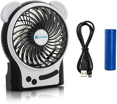 Flyproshop Mini Ventilador portátil Mesa Ventilador de Mesa ...