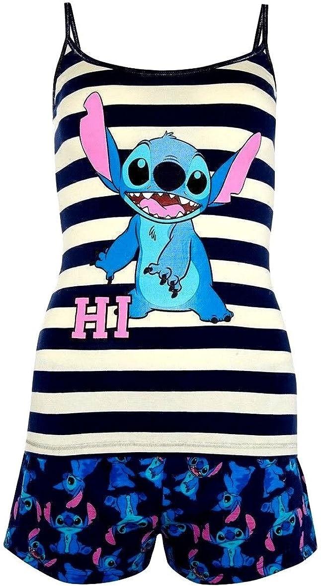 Pijama para Mujer con diseño de Disney Stitch Cami 42/44 ES ...