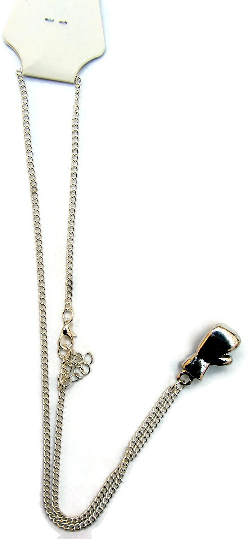41584983a47e3e Mini Pendentif charm Gant de boxe Chaîne Collier Argent fantaisie Cadeau  idéal Shihan
