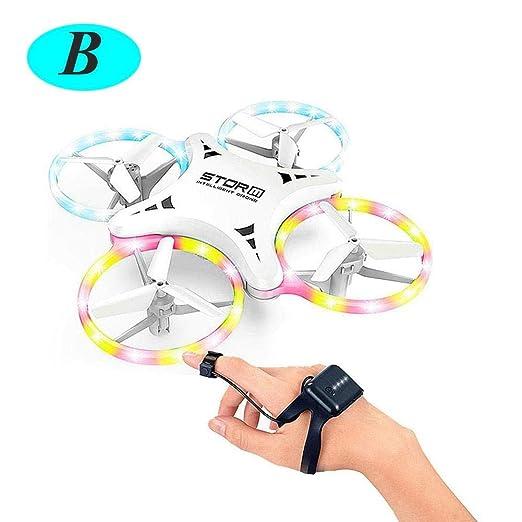 bloomma Mini Drone para Niños - UFO LED 4 Drones De Luz De Color ...