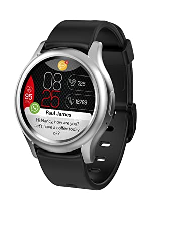 Amazon.com: MyKronoz ZeRound3 Smartwatch with Full Round ...